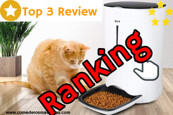 Ranking comedero automatico gatos